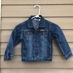 Levi Strauss signature boy's denim button jacket